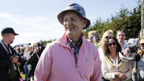 The Doobie Brothers want actor Bill Murray to pay for using the band's song in commercials for his golf shirts.