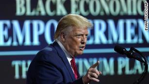 Trump unveils 'Platinum Plan' for Black Americans