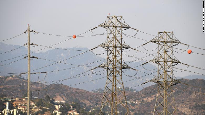 Nearly 100,000 customers may lose power over fire danger in California