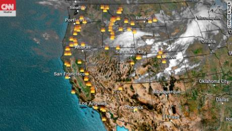 Heat wave, drought elevate wildfire threat in the West