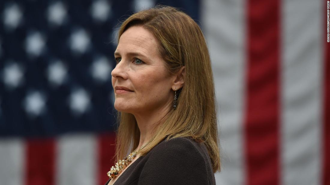Amy Coney Barrett's debut shows she will be a tough adversary for Democrats - CNNPolitics