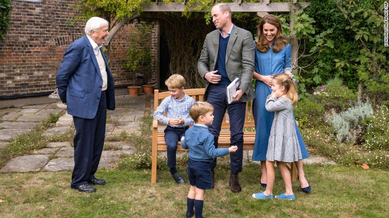 David Attenborough gave Prince George a fossilized shark tooth. Malta says it wants it back