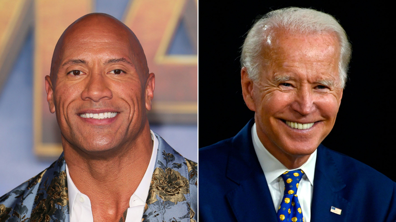 Dwayne 'The Rock' Johnson endorses Joe Biden and Kamala Harris