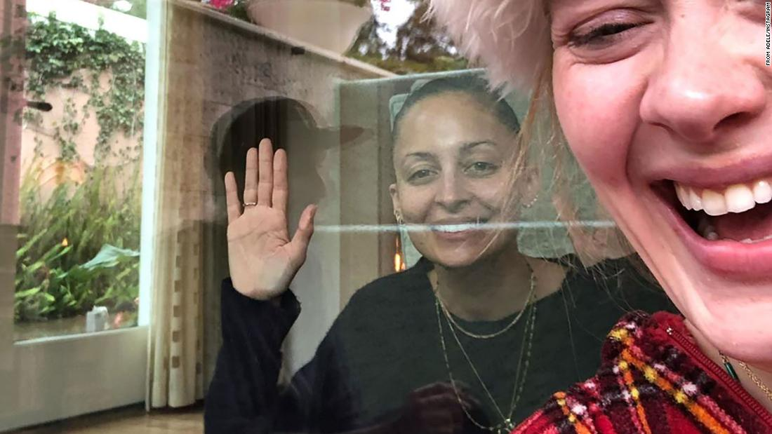 Adele shows off her silly side in birthday post for Nicole Richie
