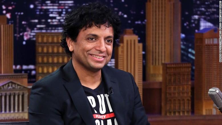 M. Night Shyamalan has revealed the title and poster for his upcoming movie
