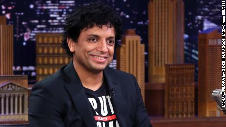 Director M. Night Shyamalan during an interview on November 22, 2019.