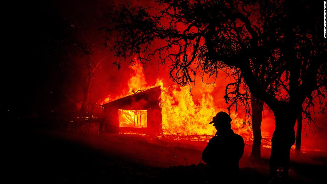 2 new California wildfires burn nearly 10000 acres in a day and force evacuations – CNN