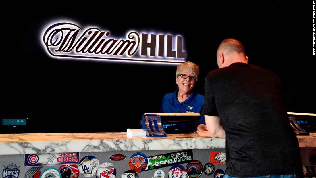 Caesars could buy William Hill for $3.7 billion as sports betting booms