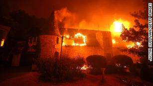Famed California winery destroyed as fast-moving fires take over wine country