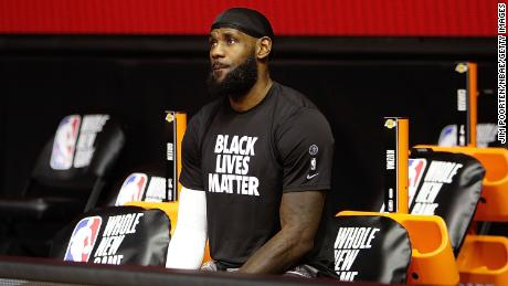 James has been one of the leading voices in the NBA speaking out about social justice.