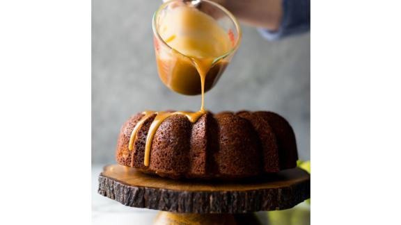 Glazed Apple Bundt Cake by Sally McKenney