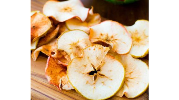 Baked Cinnamon Apple Chips by Sally McKenney