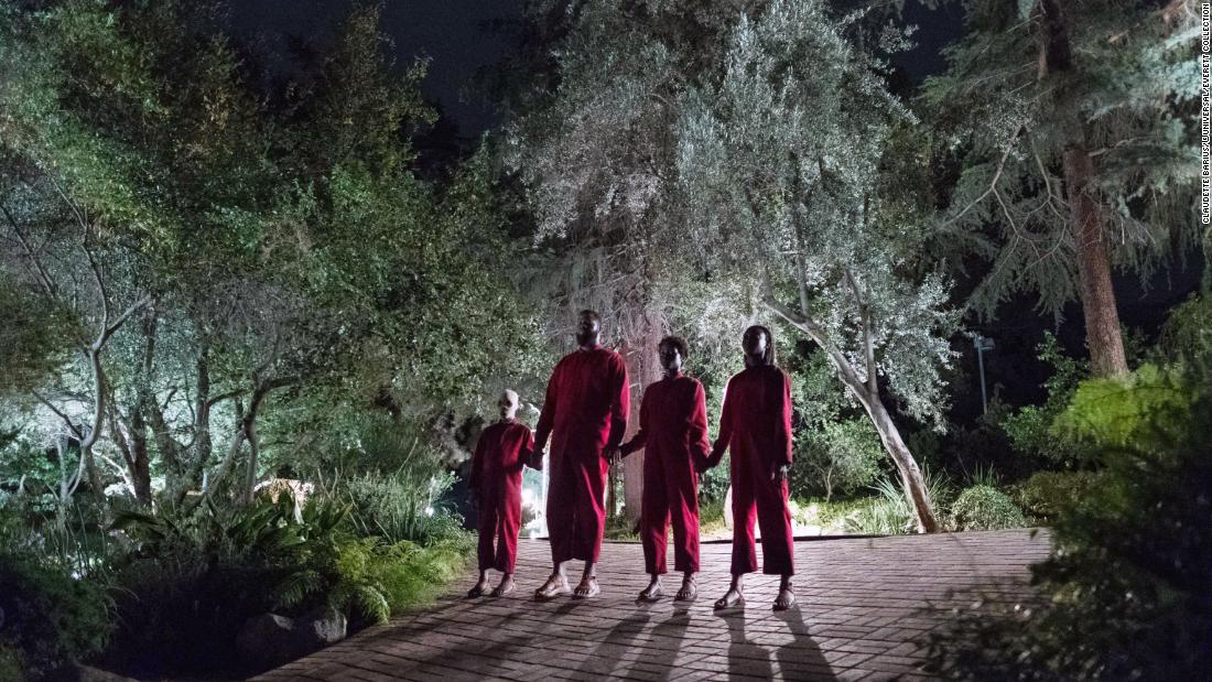 """A family is attacked by mysterious doppelgangers in Jordan Peele's """"Us."""""""