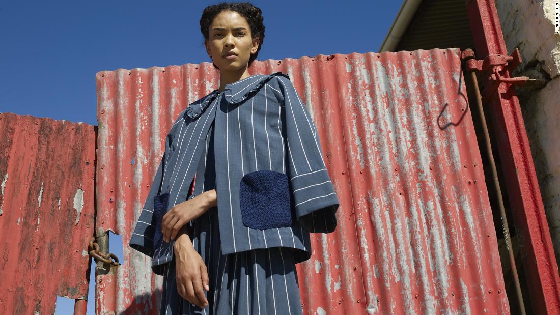 South African designer debuts at Milan Fashion Week