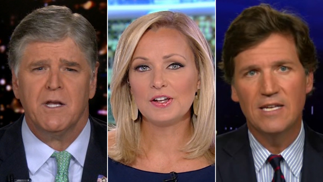 See how Fox News hosts covered President Trump's tax returns