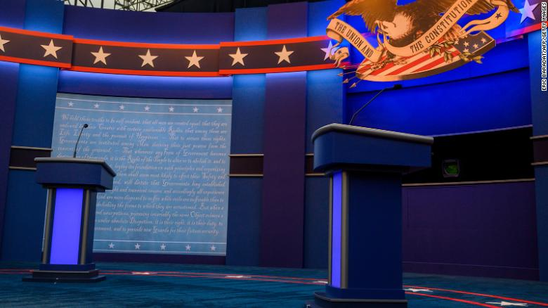 The 'Meanwhile in America' pregame guide to zingers, tells and expectations in the first presidential debate