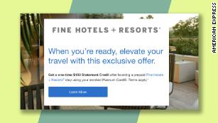 Limited Time American Express Air Hotel Offers Cnn Underscored