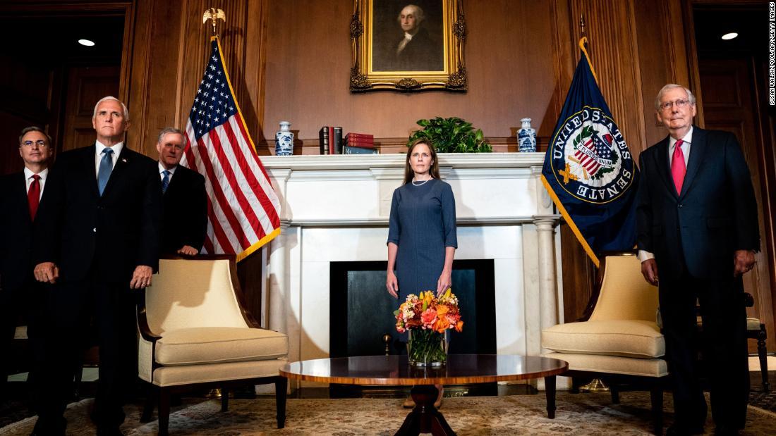 Senate to advance Amy Coney Barrett's Supreme Court nomination in key procedural vote