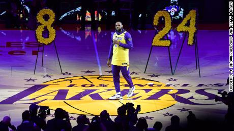 LeBron James has kept the Lakers on track for a record-equalling 17th NBA Championship in the face of the tragic death of franchise legend Kobe Bryant.
