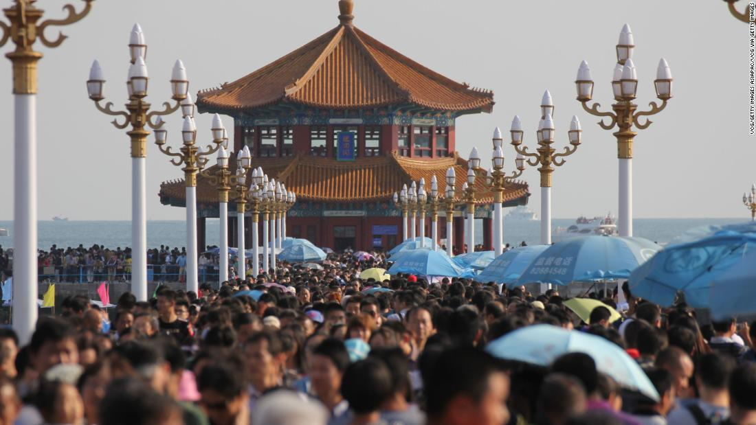 China contained Covid-19. Now, hundreds of millions of people there are about to go on vacation at the same time