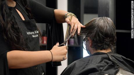 Professional barber David Falla suggests keeping at home haircuts simple.