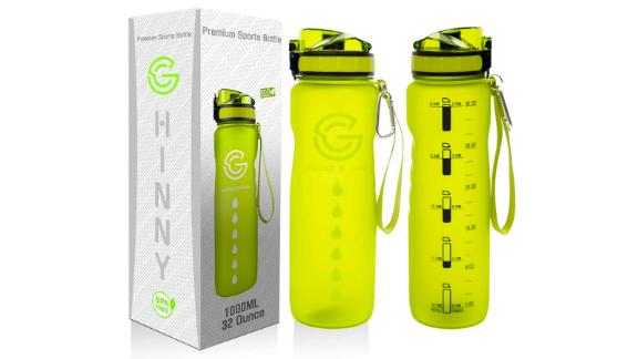 Ghinny Water Bottle With Time Marker