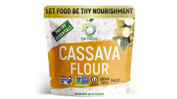 Iya Foods Premium Cassava Flour, 5-Pound Bag
