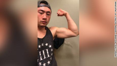 Benjamin Hung was charged with one count of conspiracy to transport firearms across state lines and to make a false statement in acquisition of firearms.