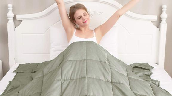 Amy Garden 7 Layers Weighted Blanket