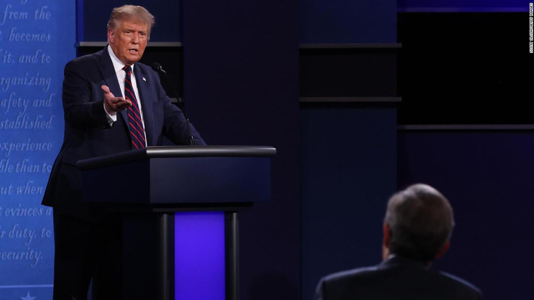 Trump's debate callout bolsters far-right Proud Boys