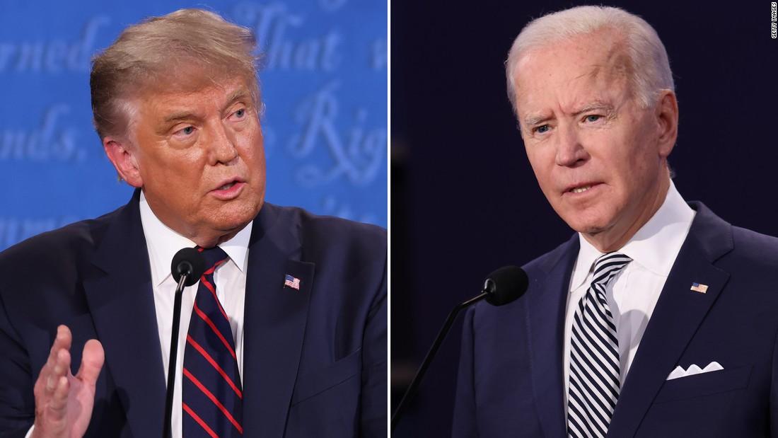'Would you shut up, man?': Biden and Trump clash early