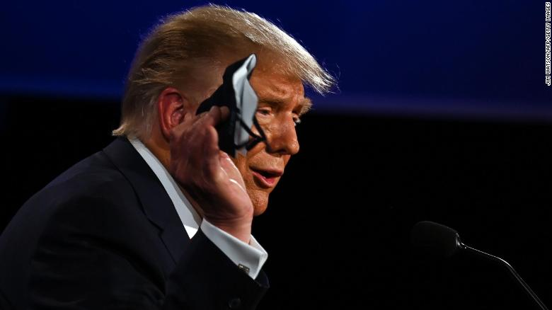 How Donald Trump completely whiffed on his debate mask answer