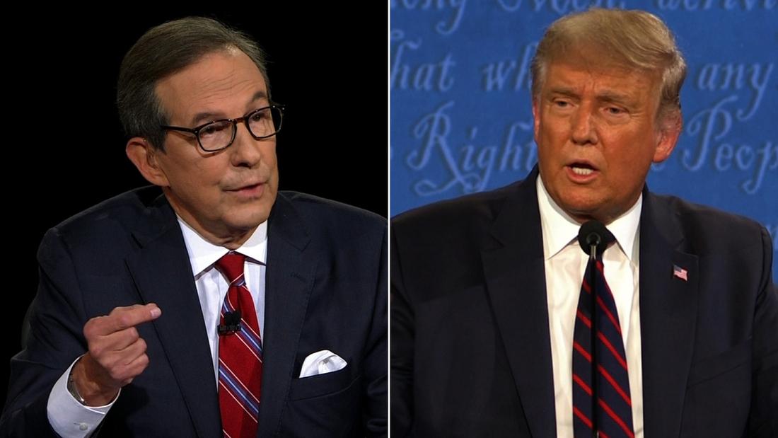 Trump Wallace split