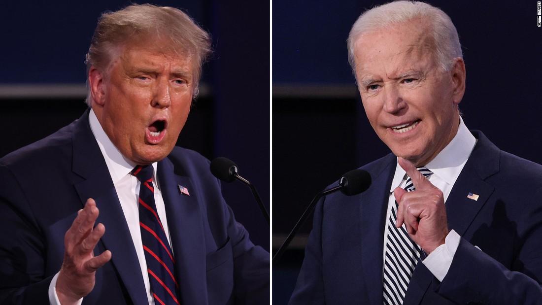 Watch: First Trump-Biden presidential debate in full