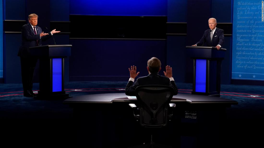 Stocks lower: The debate confirmed Wall Street's worst fears