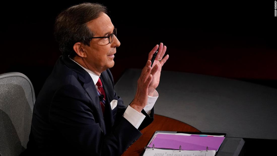 Chris Wallace blames Trump for chaotic debate: He 'bears the primary responsibility'