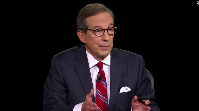 Chris Wallace says Trump is 'responsible' for chaotic debate