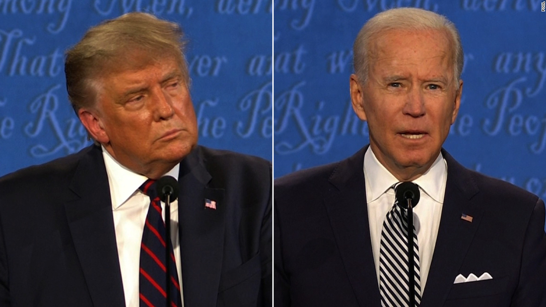 Trump and Biden hold dueling town halls