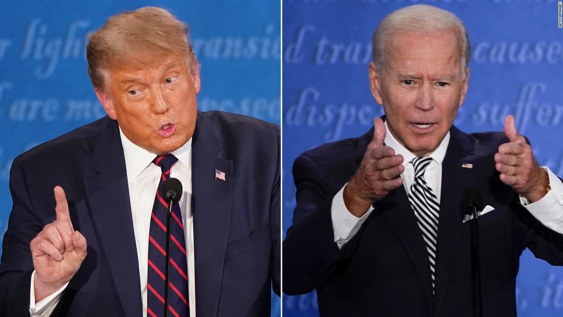Watch the entire first 2020 presidential debate – CNN