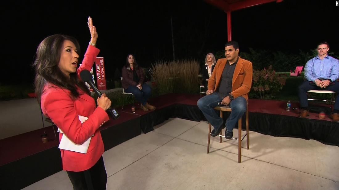'No winner tonight': Undecided voters weigh in on debate