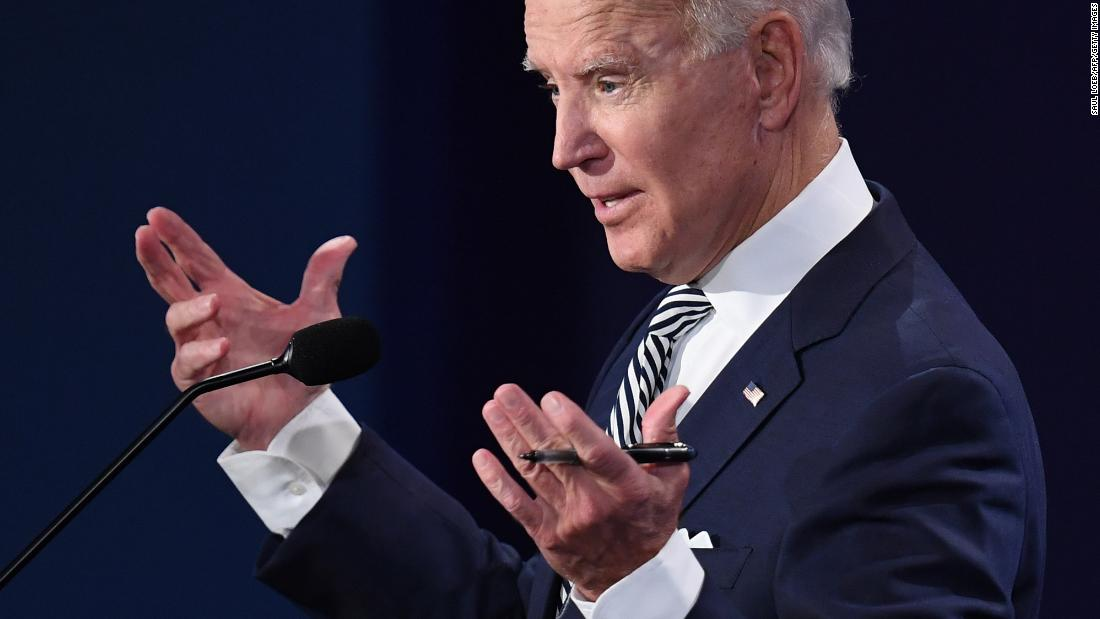 Fact-checking Biden's attempts to distance himself from the Green New Deal - CNN