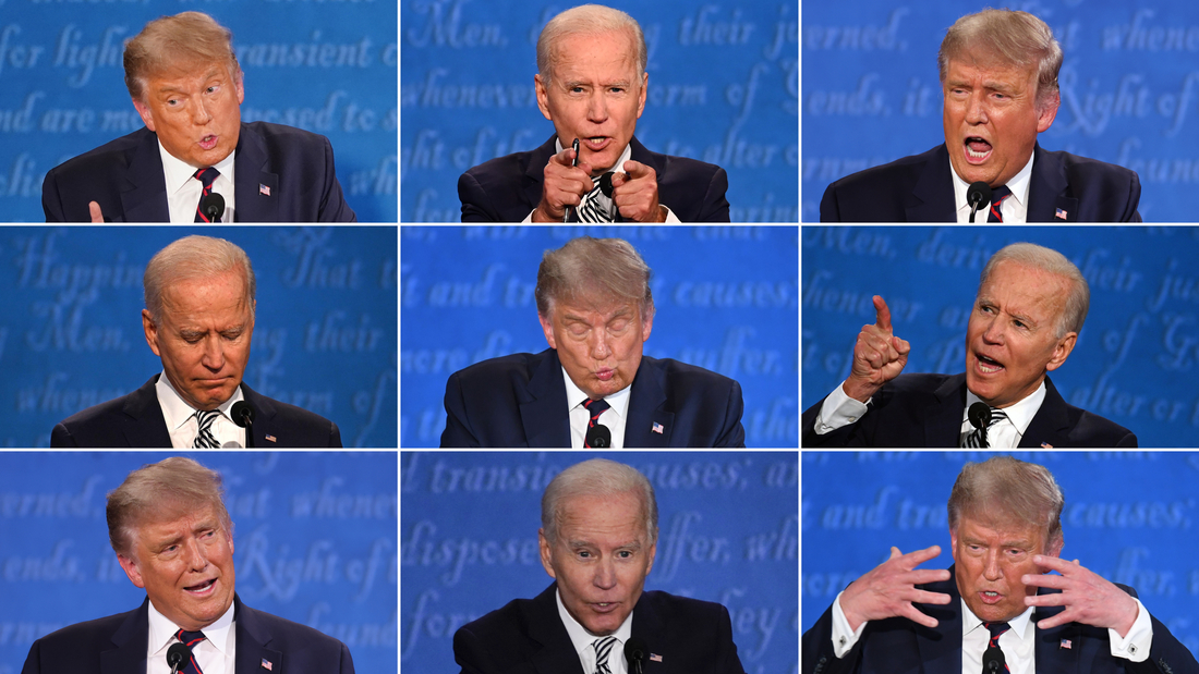 Image for Trump-Biden clash was watched by at least 73 million viewers