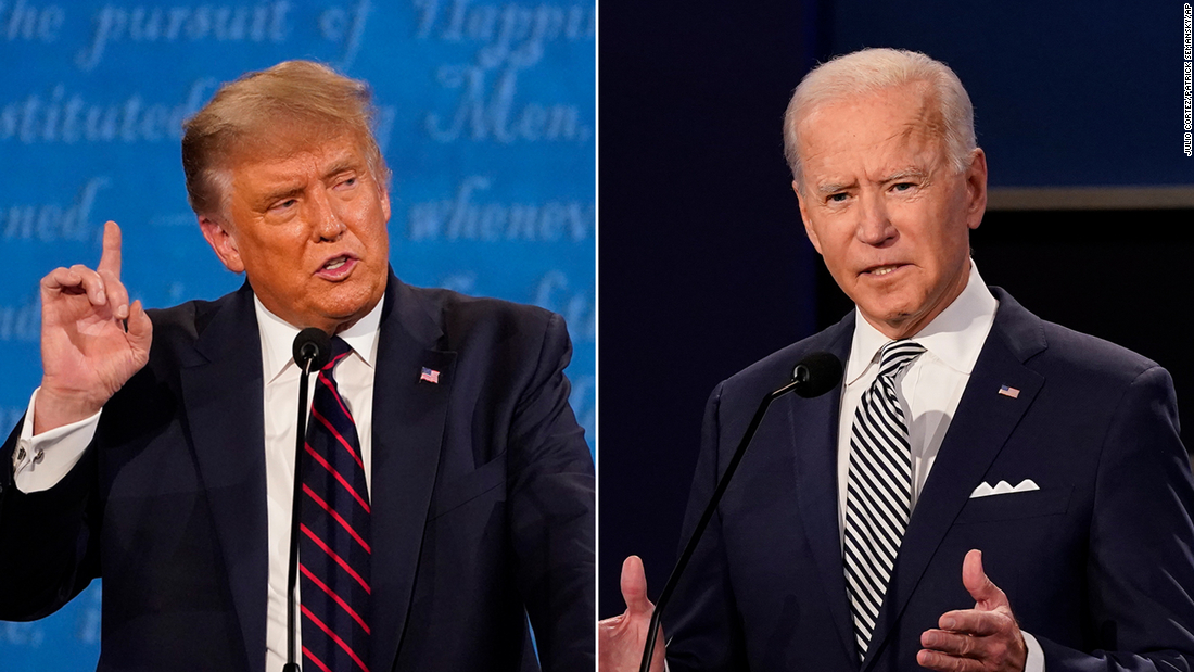 CNN Poll: Biden expands lead over Trump after contentious debate and President's Covid diagnosis – CNN