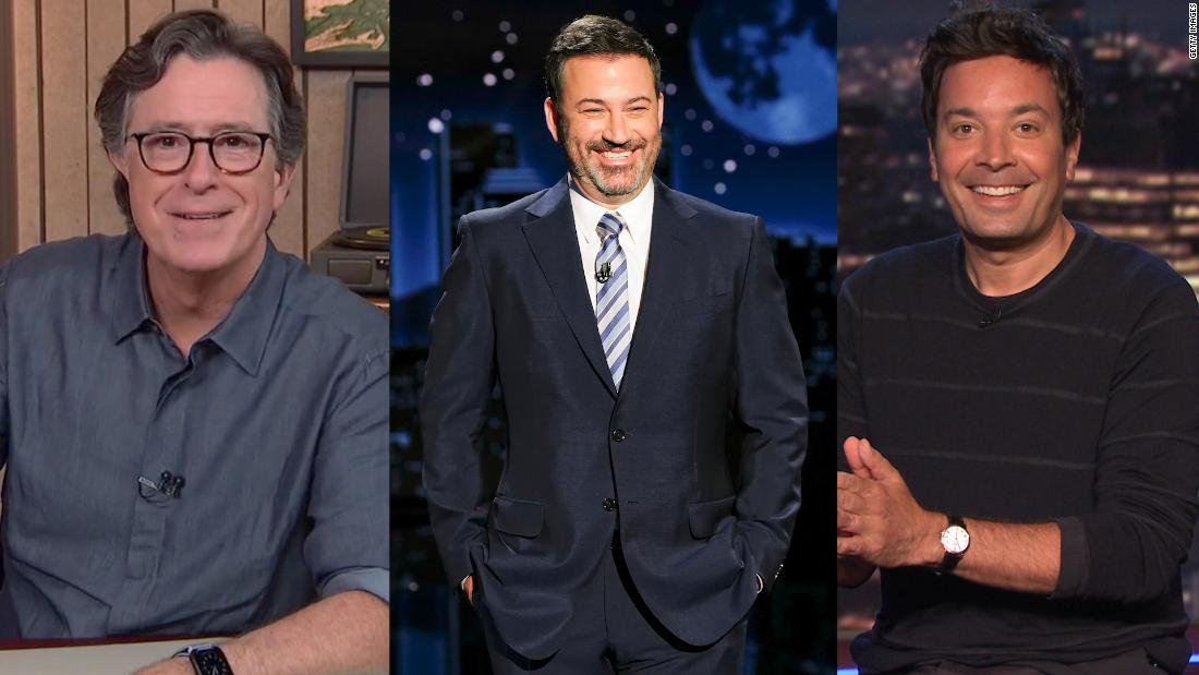 Late-night comedy reacts to first presidential debate