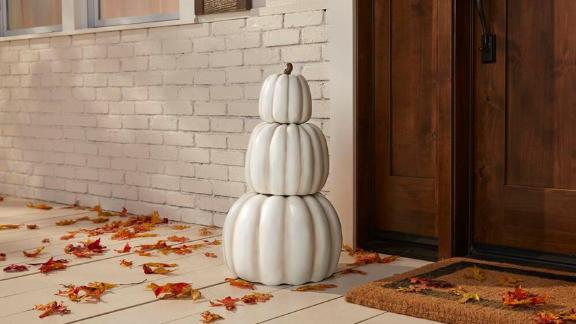 Fall Halloween 3-Piece Stacked Pumpkins
