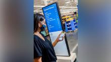 Walmart's new sigange.