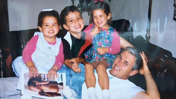 Pence poses with his three children: Audrey, Michael and Charlotte. He posted this old photo to Twitter in 2016.