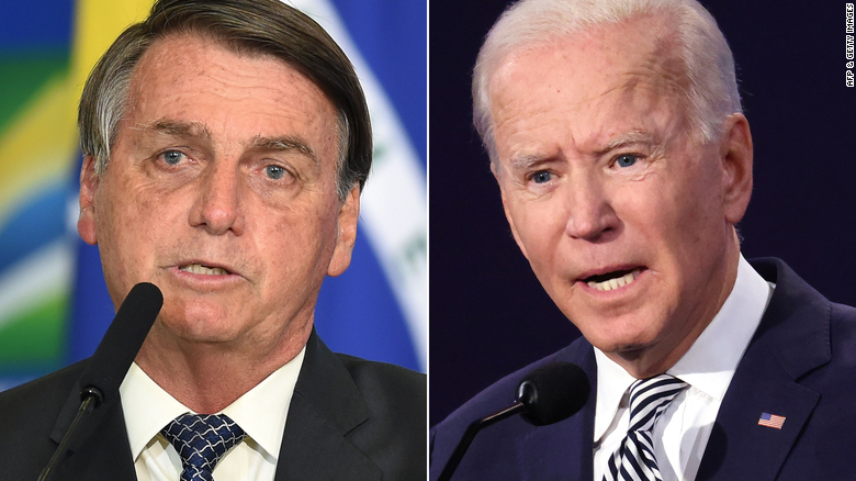 Bolsonaro asks for Biden's 'personal engagement' to fight Amazon deforestation