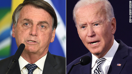 Brazil's Bolsonaro rejects Biden's offer of $20 billion to protect the Amazon