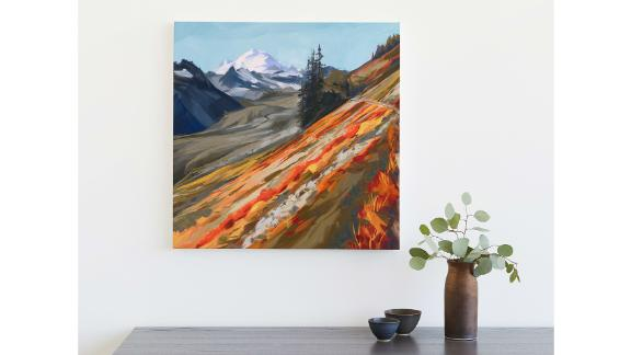 Mount Baker in Autumn Limited-Edition Art